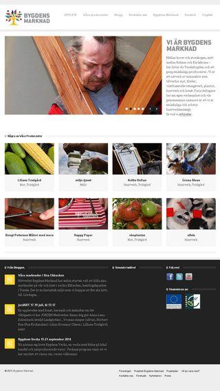 Mobile preview of bygdensmarknad.se