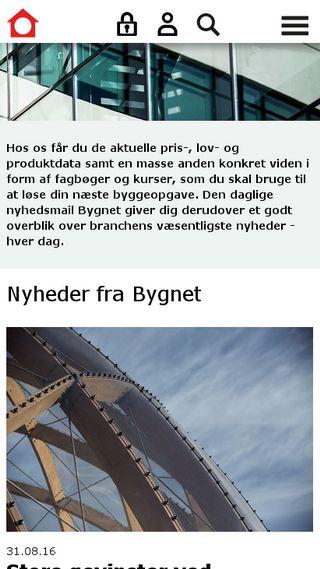 Mobile preview of byggecentrum.dk