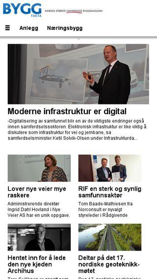 Mobile preview of byggfakta.no