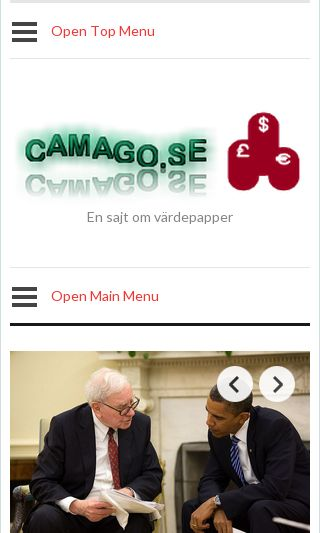 Mobile preview of camago.se