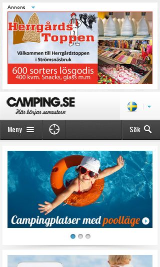 Mobile preview of camping.se