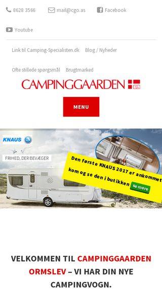 Mobile preview of campinggaarden-ormslev.dk