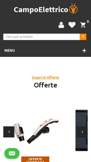 Mobile preview of campoelettrico.it