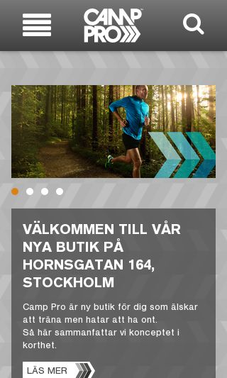 Mobile preview of camppro.se