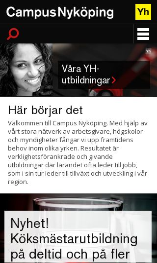 Mobile preview of campusnykoping.se