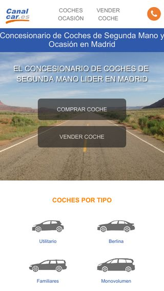 Mobile preview of canalcar.es