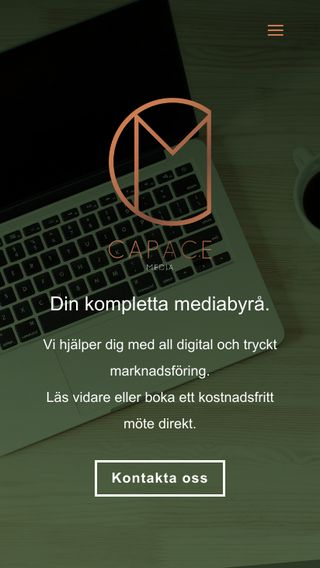 Mobile preview of capace.se