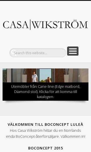 Mobile preview of casa-wikstrom.se