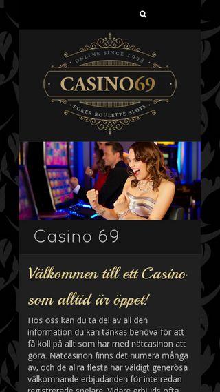 Mobile preview of casino69.se