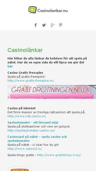 Mobile preview of casinolankar.nu