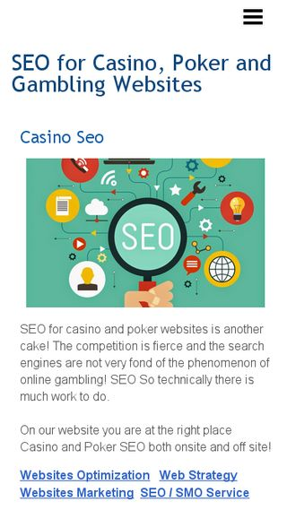 Mobile preview of casinoseo.n.nu