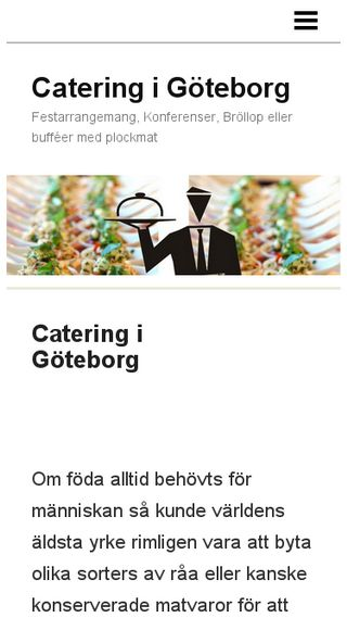 Mobile preview of cateringigoteborg.n.nu