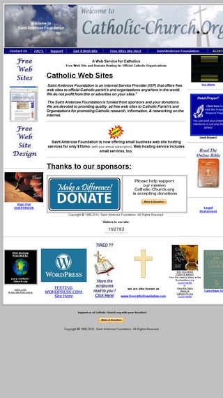 Mobile preview of catholic-church.org