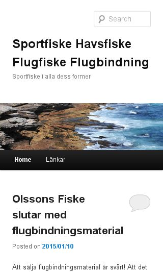 Mobile preview of celasportfiske.nu