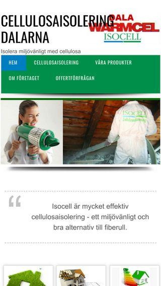 Mobile preview of cellulosaisoleringdalarna.se