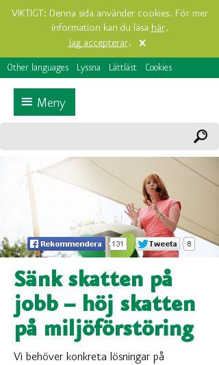 Mobile preview of centerpartiet-regionkronoberg.se