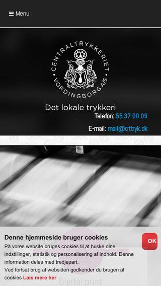 Mobile preview of centraltrykkeriet-vordingborg.dk