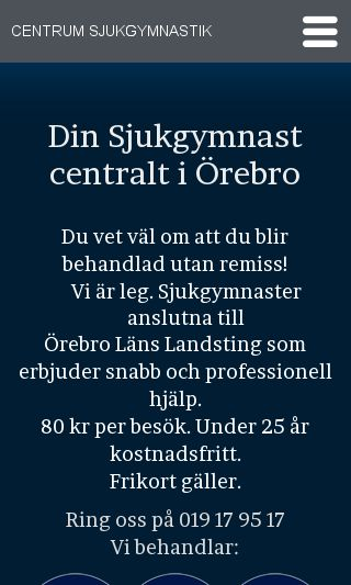 Mobile preview of centrum-sjukgymnastik.se