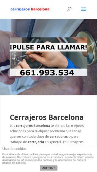 Mobile preview of cerrajeros.barcelona