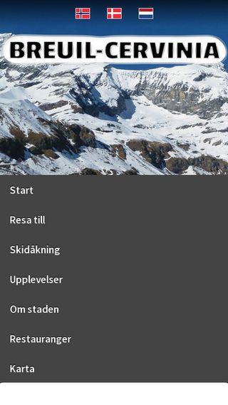 Mobile preview of zermattguiden.se