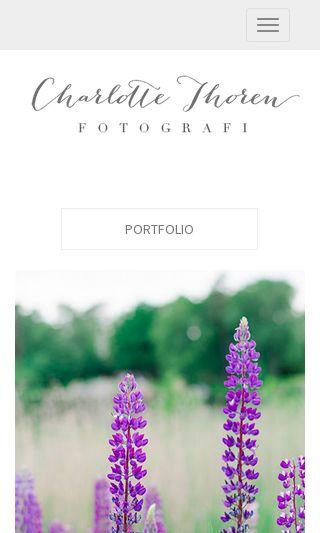 Mobile preview of charlottethoren.se