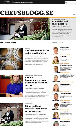 Mobile preview of chefsblogg.se