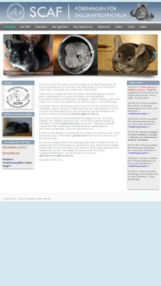 Mobile preview of chinchilla.se