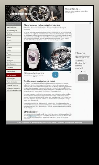 Mobile preview of chronometer.se