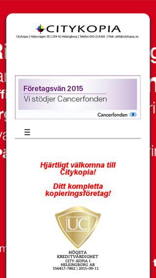 Mobile preview of citykopia.se