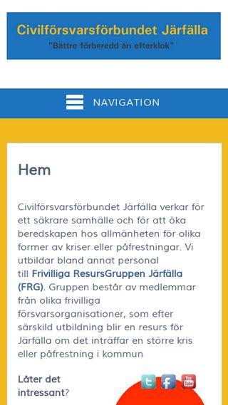Mobile preview of civiljarfalla.se