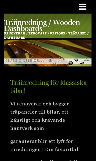 Mobile preview of classicinterior.se