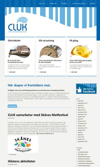 Mobile preview of cluk.se