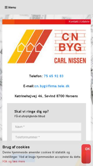 Mobile preview of cn-byg.dk