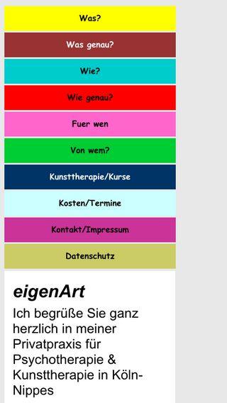 Mobile preview of coaching-eigenart.de