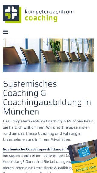 Mobile preview of coaching-kompetenz.de