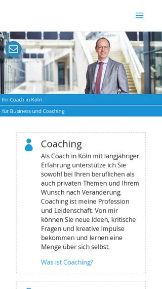 Mobile preview of coaching-lauer.de