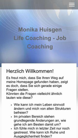 Mobile preview of coaching-monika-huisgen.de