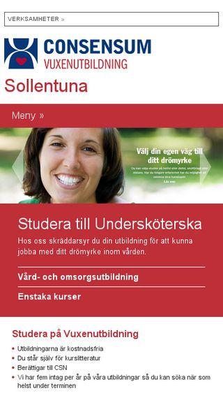 Mobile preview of consensum-vuxs.se