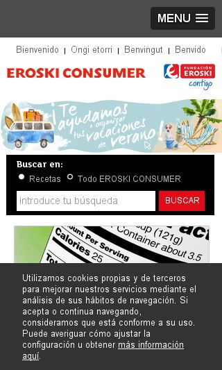 Mobile preview of consumer.es