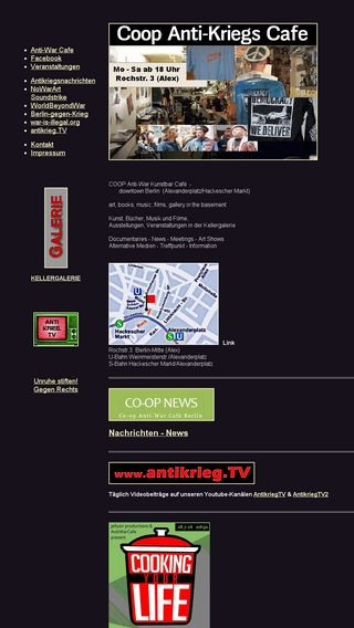 Mobile preview of coopcafeberlin.de