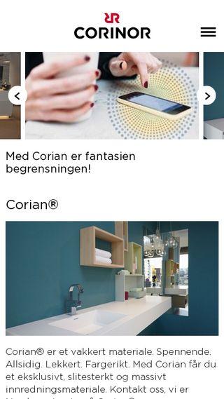 Mobile preview of corinor.no
