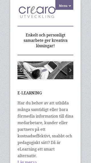 Mobile preview of crearo.se