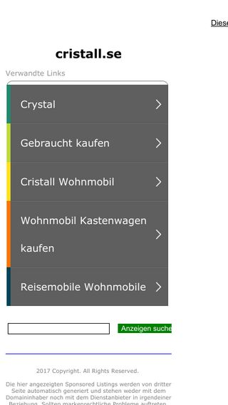 Mobile preview of cristall.se