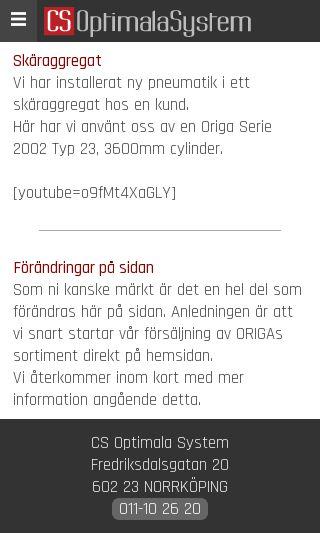 Mobile preview of cs-optimalasystem.se