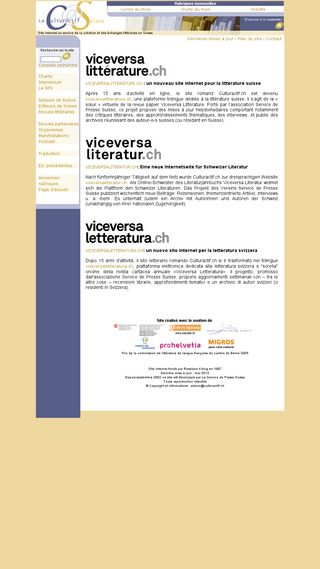 Mobile preview of culturactif.ch
