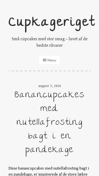Mobile preview of cupkageriget.dk