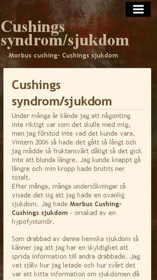 Mobile preview of cushing.n.nu