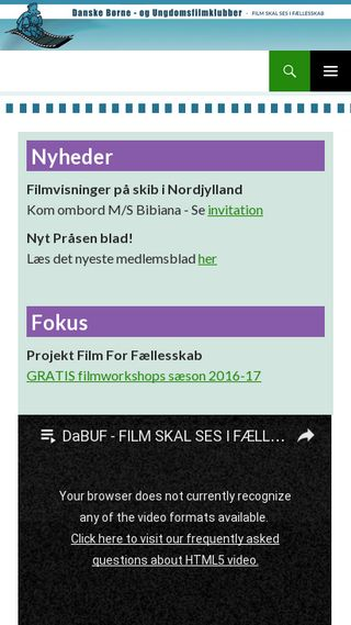 Mobile preview of dabuf.dk