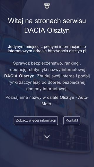 Mobile preview of dacia.olsztyn.pl