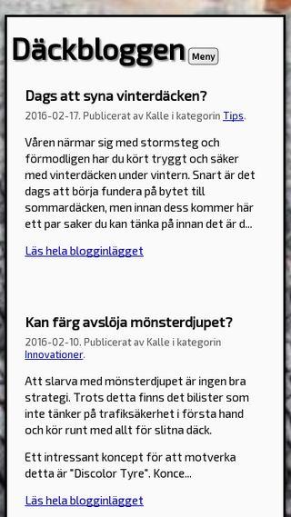Mobile preview of dack.bloggo.nu
